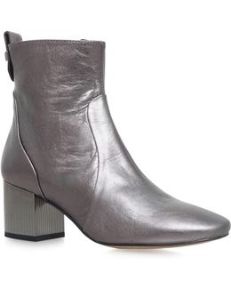 Strudel Leather Ankle Boots