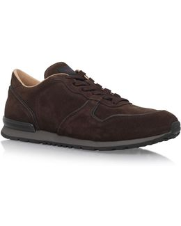 Active Suede Running Shoes