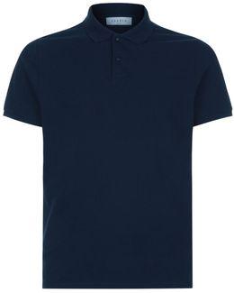 Textured Polo T-shirt