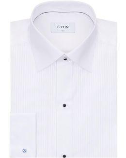 Pleated Cotton Shirt