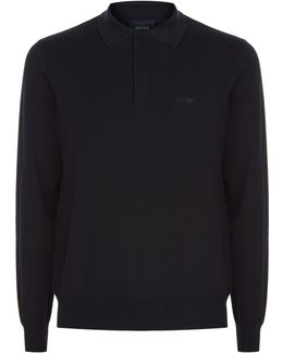 Long Sleeve Polo Knit Jumper