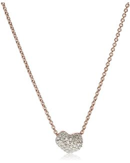 Nura Mini Heart Necklace