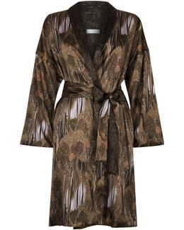 Adele Silk Robe