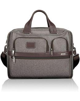 Alpha 2 Expandable Organiser Briefcase