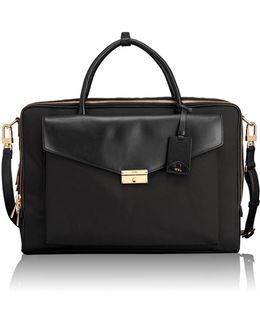 Erin Leather Trim Briefcase