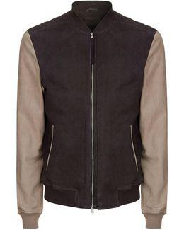 Avon Leather Bomber Jacket