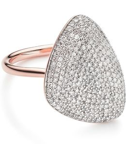 Nura Teardrop Diamond Ring