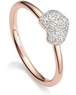 Nura Mini Heart Ring