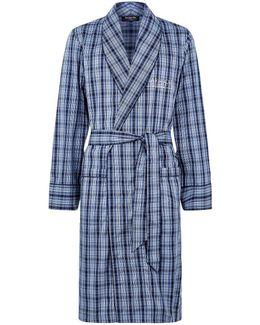 Plaid Cotton Robe