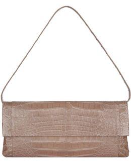 Gotham Crocodile Clutch Bag
