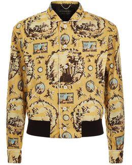 Wallpaper Print Blouson Jacket