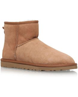 Classic Ii Mini Suede Boots