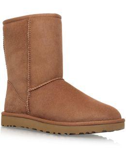 Classic Short Ii Suede Boots