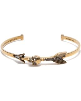 Skull Arrow Bangle