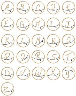 Hoopla Alphabet Pendant