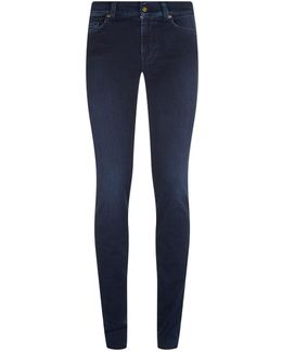Rozie High Waist Slim Jeans