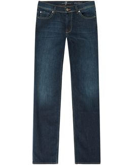 Straight Luxe Performance Jeans