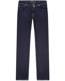 Relaxed Comfort Stretch Jeans