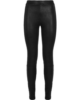 Xavier Skinny Leather Trousers