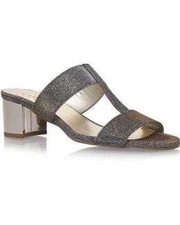 Suzy Metallic Sandals