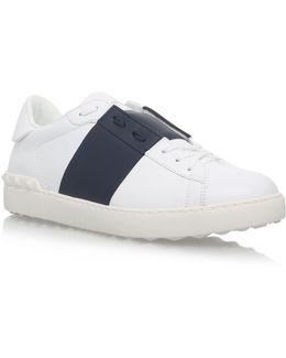 Tennis Stripe Sneakers