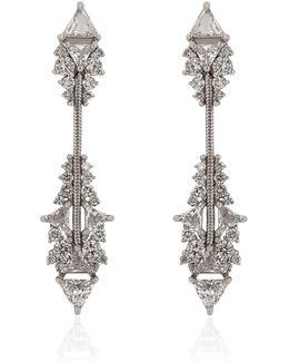 Fusion Short Arrow Earrings