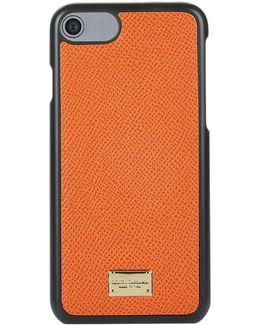 Grain Leather Iphone 7 Case