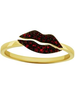 Kiss Me Ruby Ring