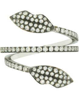 Marry Me Diamond Double Lips Ring