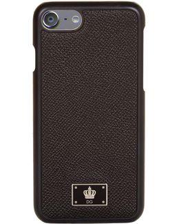 Grained Logo Iphone 7 Case