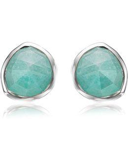 Siren Amazonite Stud Earrings