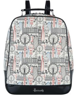 Balloons And Bicycles Backpack