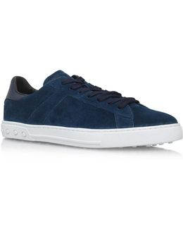 T Tennis Suede Sneakers