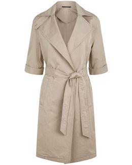 Luna Twill Coat