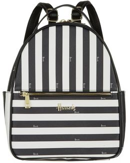 Boutique Multi Stripe Backpack