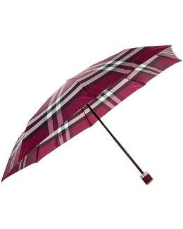 Check Folding Umbrella