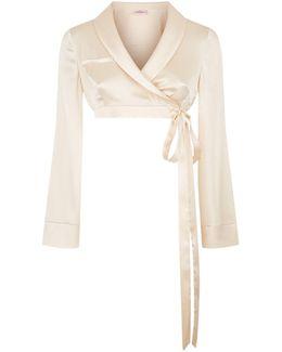 Lisia Wrap Pyjama Top