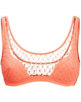 Shannon Fishnet Bikini Top