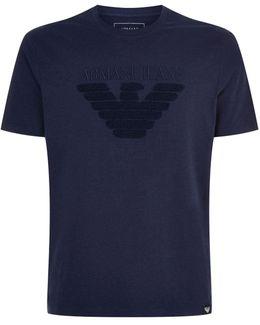 Textured Eagle T-shirt