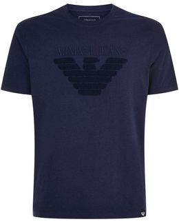 Textured Eagle T-shirt