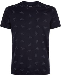 Flocked Eagle T-shirt