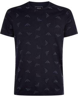 Flocked Eagle T-shirt