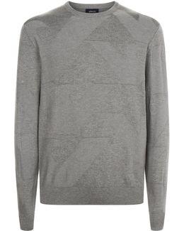 Mercerised Logo Sweatshirt