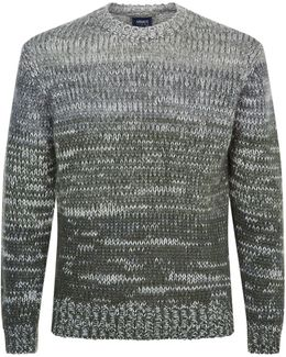 Gradient Chunky Knit Sweater
