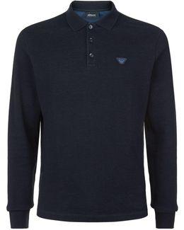 Logo Polo Sweater
