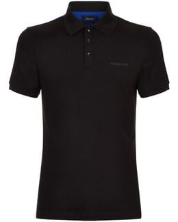 Colour-block Logo Polo Shirt