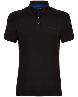 Colour-block Logo Polo Shirt
