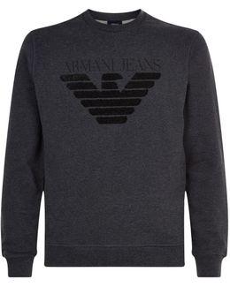 Textured Eagle Sweatshirt