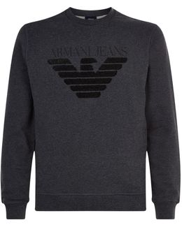 Textured Eagle Sweatshirt