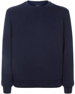 Tonal Back Logo Sweater